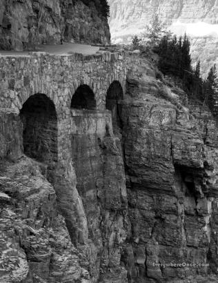 Triple Arches Glacier National Park