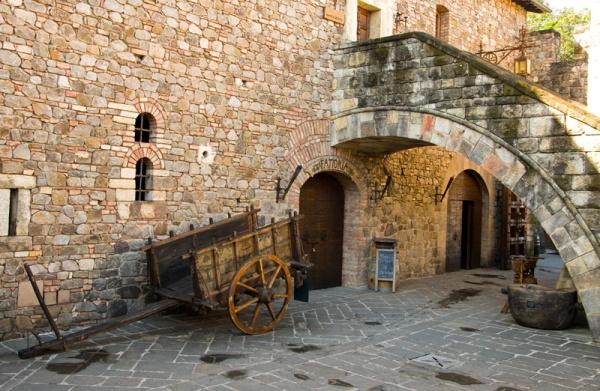 Castello di Amorosa Courtyard