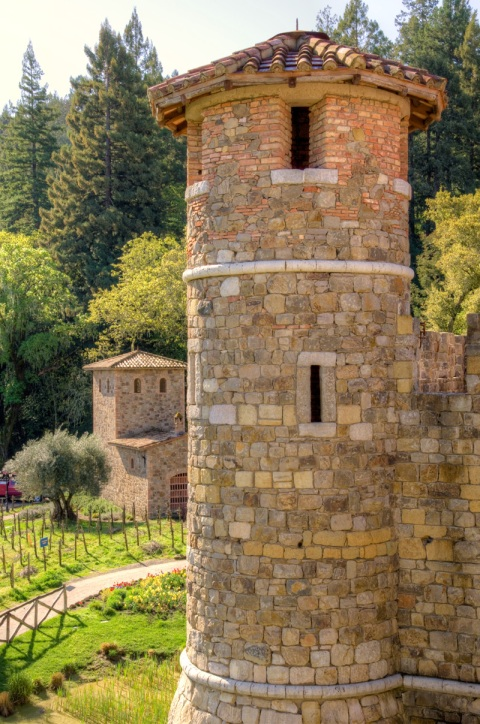 Castello di Amorosa Defensive Tower
