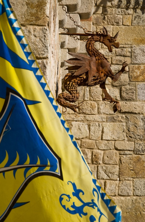 Castello di Amorosa Dragon