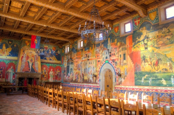 Castello di Amorosa Great Hall