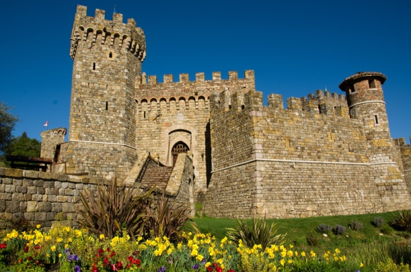 Castello di Amorosa, Napa Valley, California