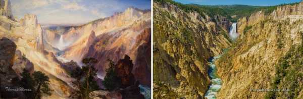 Thomas Moran, Grand Canyon of the Yellowstone