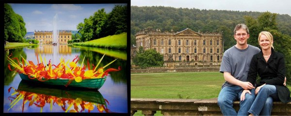 Chihuly and Us at Chatsworth House
