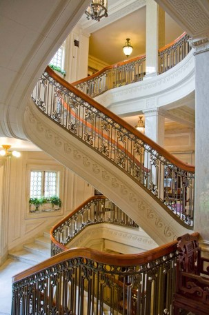 Pittock Mansion Grand Staircase