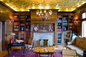 Pittock Mansion Library