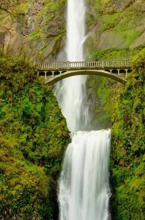 Oregon's tallest and arguably its most stunning multnomah falls