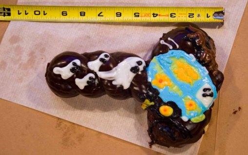 Voodoo Cock and Balls Doughnut