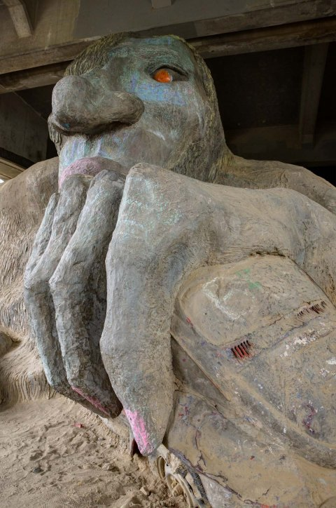 Seattle Fremont Troll