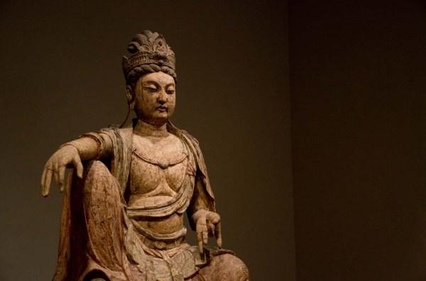 Guanyin statue Honolulu Museum of Art