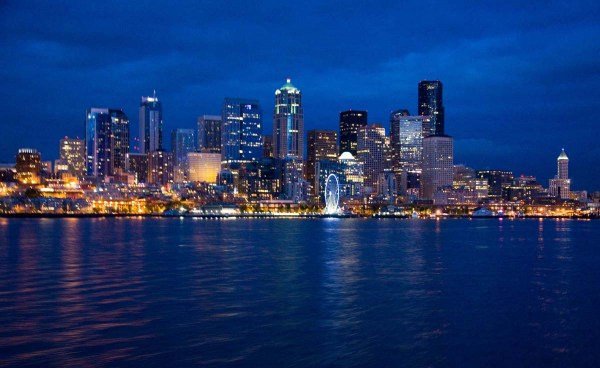 Seattle Skyline at Night