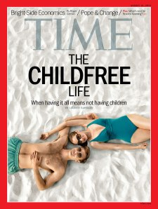 The Childfree Life Time Magazine Cover