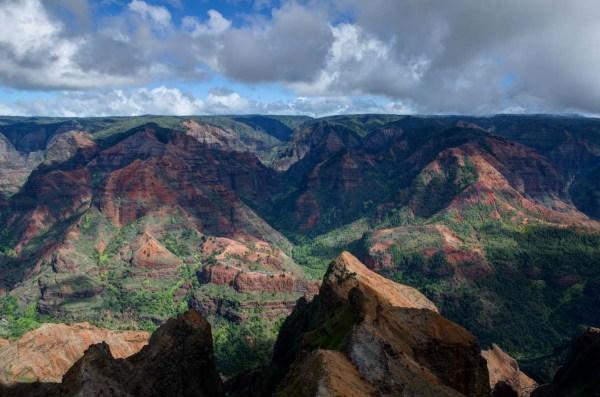 Waimea Canyon, The Grand Canyon of the Pacific, Kauai