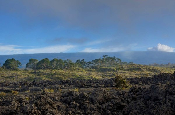 Blue Sky Rolls in on Mauna Kea