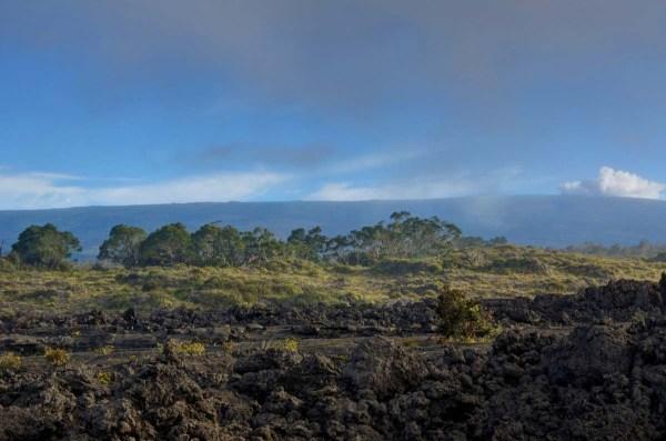 Blue Sky Rolls in on Mauna Kea