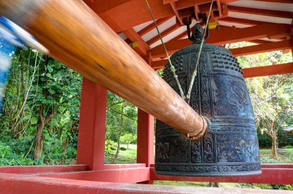 Byodo-In Temple Peace Bell