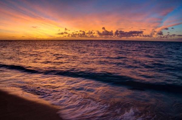 Hawaiian Sunset, North Shore Oahu