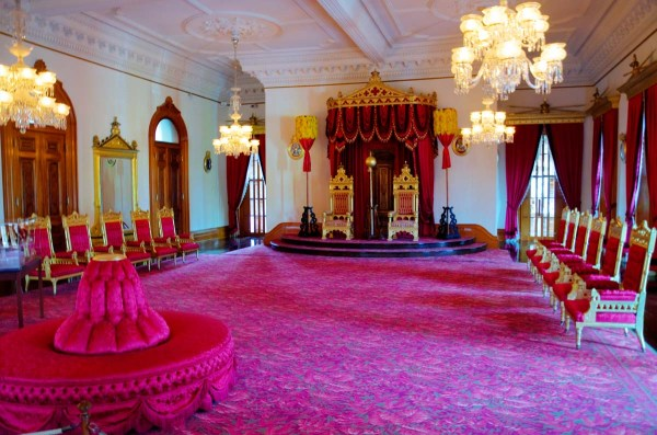 Iolani Palace Throne Room Honolulu Hawaii