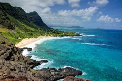 Oahu Hawaii Eastern Coast