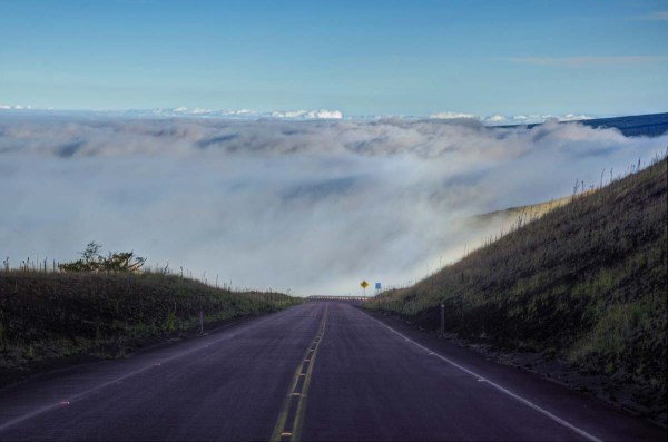 Road to the Clouds