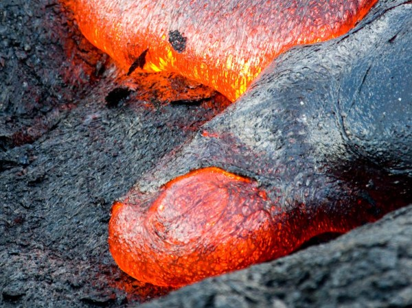 Globs of Molten Rock