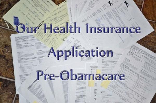 Health Insruance Application