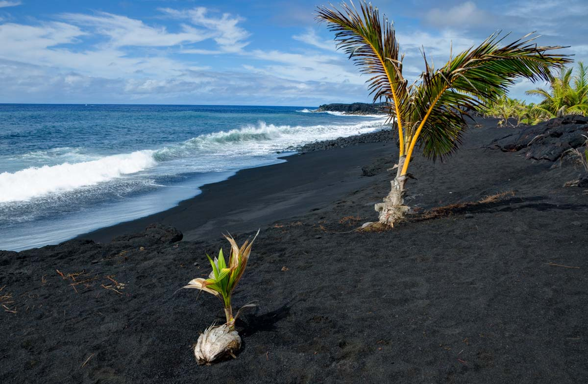 A darker shade of black everywhere once for How many black sand beaches in the world
