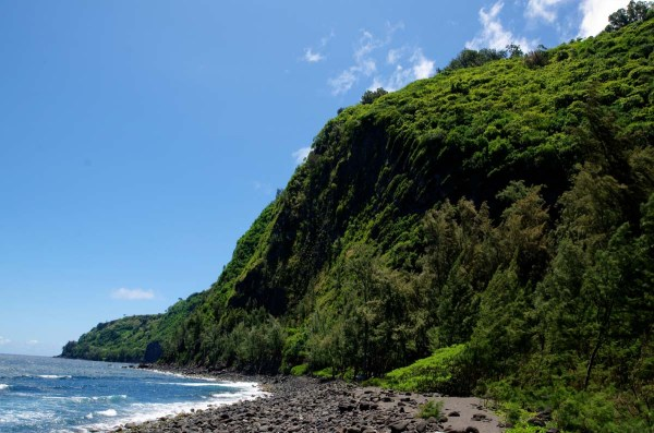 Waipio Valley Cliff