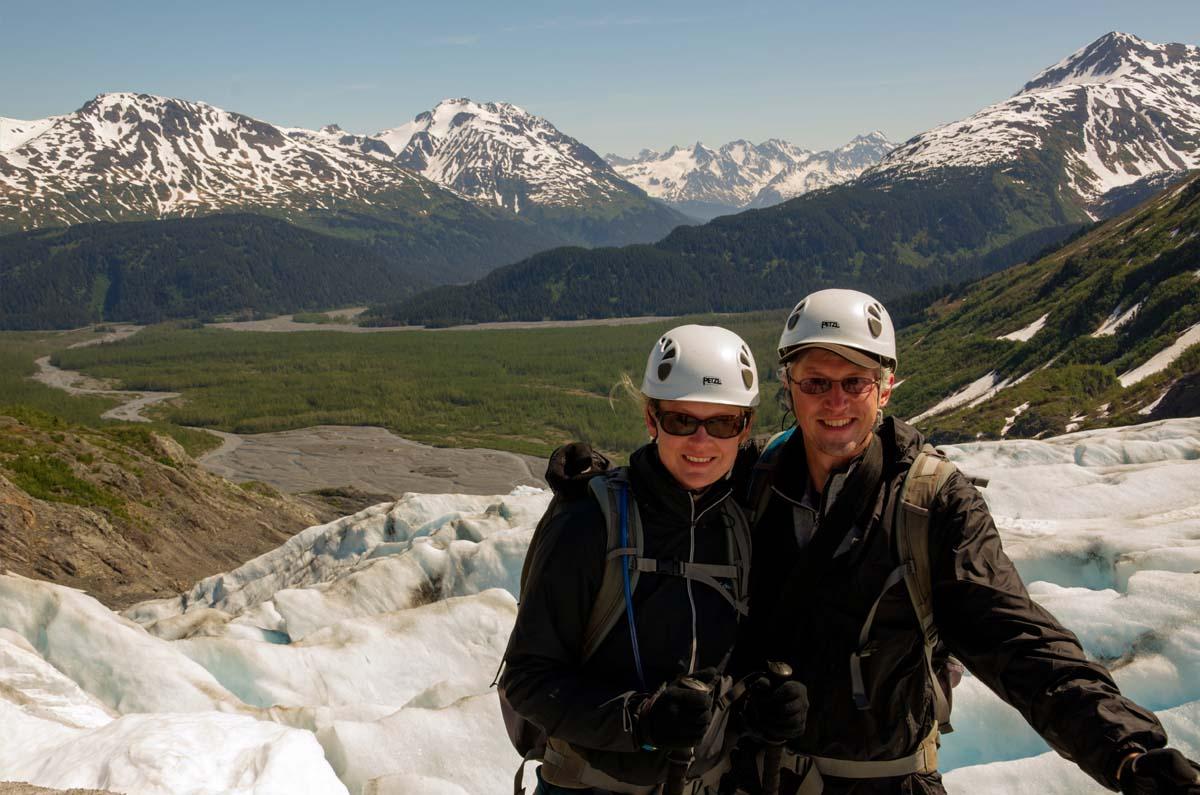 Hiking Exit Glacier, Alaska