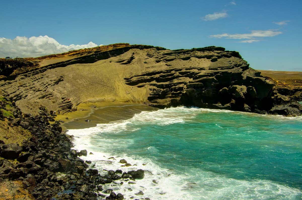 papakolea beach - photo #12