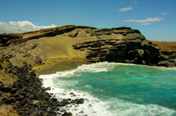 Papakolea Green Sand Beach Hawaii Big Island