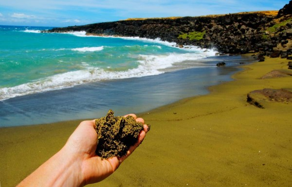 Papakolea Green Sand Beach Hawaii, Big Island