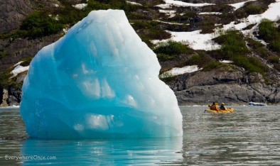 Blackstone Bay Glacier Kayak