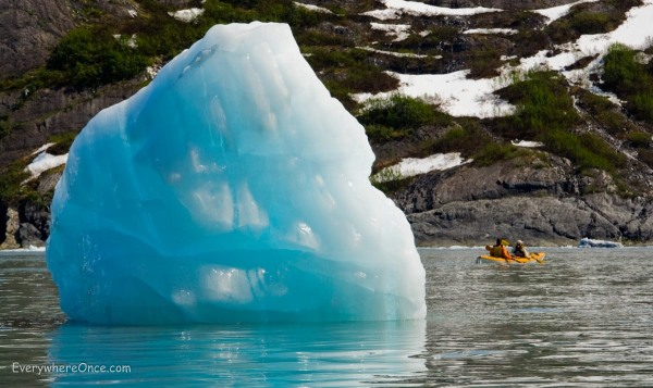 Kayaking Blackstone Bay: Glaciers and Waterfalls