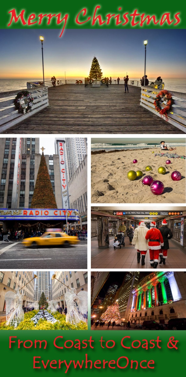 Merry Christmas from New York City to San Diego