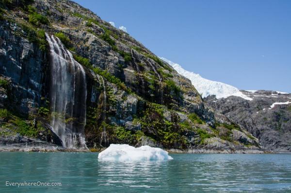 Waterfall in Blackstone Bay
