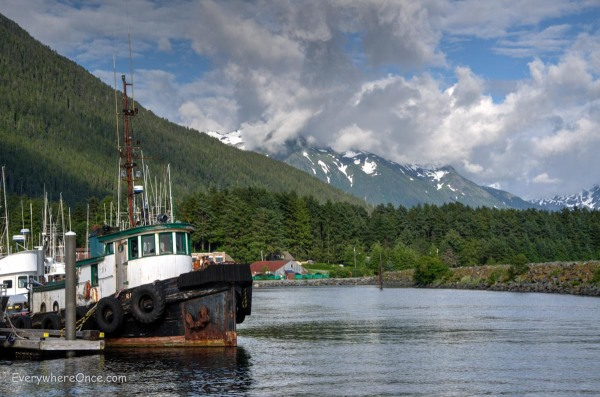 Sitka Alaska Harbor