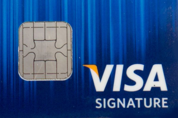 You'll want this little chip thingy in your credit card if you plan on leaving the U.S.