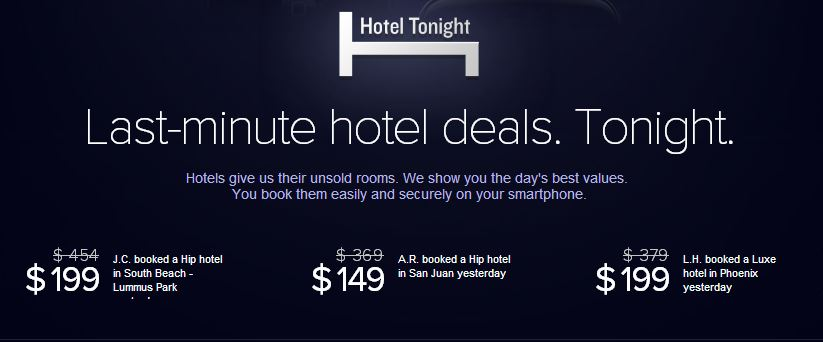 Travel App Review Hotel Tonight Everywhere Once