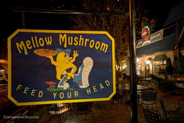 Mellow Mushroom, Asheville, North Carolina
