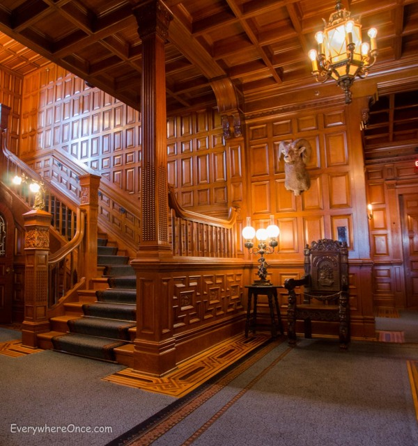 Craigdarroch Castle Staircase