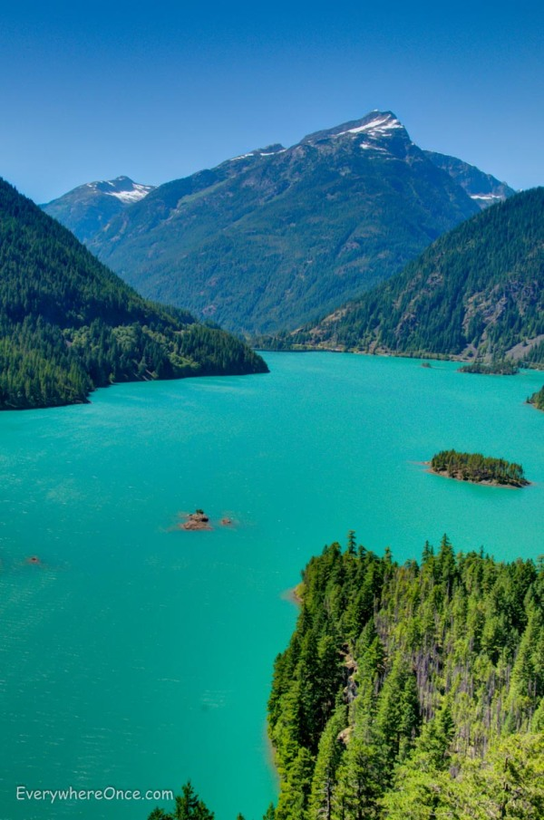Diablo Lake, North Cascade National Park