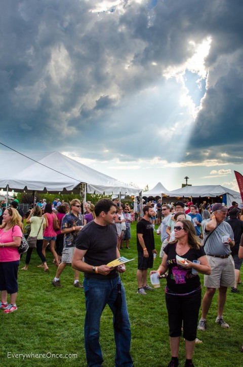 Heavenly Light Shines on Bend Brewfest