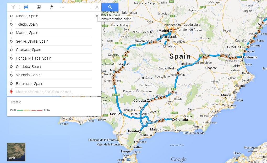 5 Things we learned researching our European trip – Train Travel In Spain Map