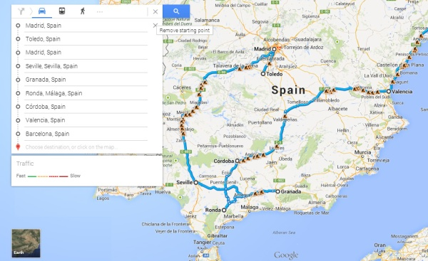 How we'll probably have to travel around Spain