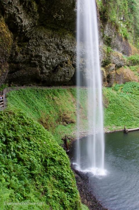 South Falls Silver Falls State Park Oregon