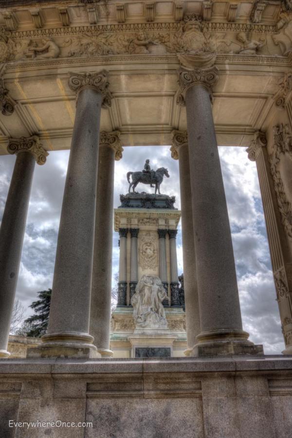 King Alfonso XII Monument, Buen Retiro Park, Madrid