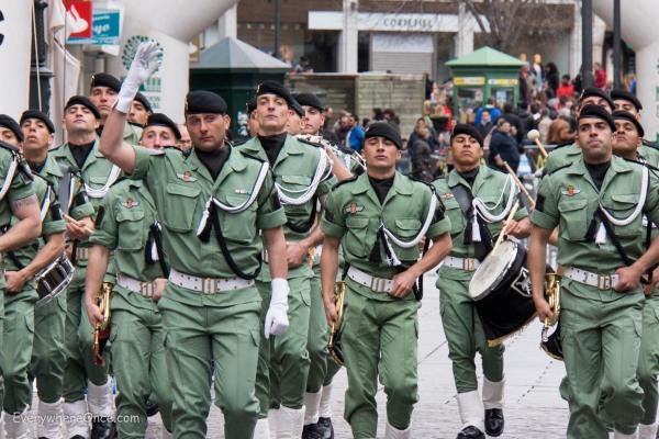 Segovia Marathon Day Parade
