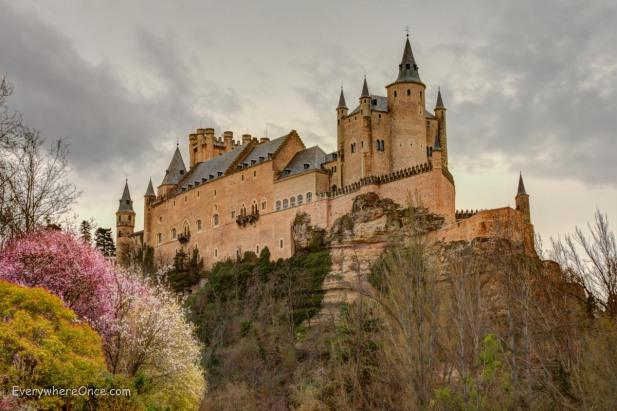 The Royal Alcazar Segovia, Spain