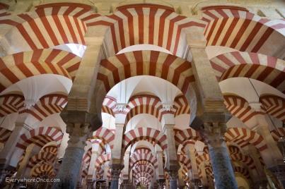Cordoba Mezquita Candy Cane Arches
